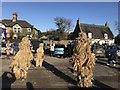 TL2697 : The three bears - Whittlesea Straw Bear Festival 2020 by Richard Humphrey