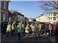 TL2797 : Bourne Borderers Morris - Whittlesea Straw Bear Festival 2020 by Richard Humphrey