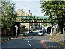 NS4075 : Railway Bridge, Dumbarton East by David Dixon