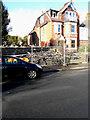 TR2336 : Fire damaged houses, Wear Bay Crescent by John Baker