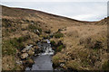 NC9324 : The Allt Salislade watercourse, Sutherland by Andrew Tryon