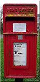 TA3719 : Elizabeth II postbox on Church Road, Skeffling by JThomas