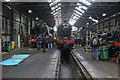 SK5419 : Great Central Railway - Loughborough locomotive works by Chris Allen