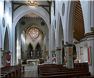 SK5640 : Nottingham Cathedral - interior by Stephen Craven