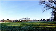 SO9095 : Cricket ground in Upper Penn, Wolverhampton by Roger  Kidd