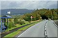 NS3280 : Cardross Road, Colgrain Bus Stop by David Dixon