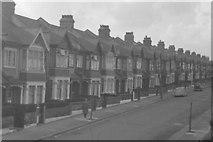 TQ2772 : Mandrake Road, Tooting Bec,  March 1963 by Alex Passmore