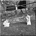 SO5719 : Cricketing gnomes by John Winder