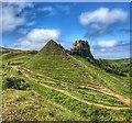 NG4162 : Fairy Glen, Skye by Ian Cunliffe