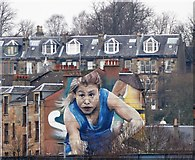 NS5566 : Mural Glasgow by Mary Rodgers
