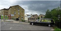 SE1437 : Hearse, Otley Road, Shipley by habiloid
