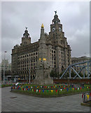 SJ3390 : Memorial to Heroes of the Marine Engine Room, Liverpool by habiloid