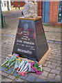 SD7806 : John Atkinson Memorial, Radcliffe Piazza by David Dixon