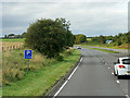 NS3937 : Westbound A71 near Crosshouse by David Dixon