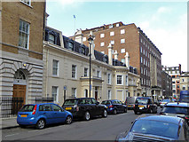TQ2881 : The Medical Society of London building, Chandos Street, W1 by Robin Webster