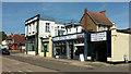 SX8961 : Row of shops, Manor Corner, Preston by Derek Harper