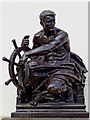 SP0686 : Bronze statue by the Hall of Memory in Birmingham by Roger  Kidd