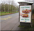 ST3188 : Subway advert for plant lovers and meat heads, Crindau, Newport by Jaggery