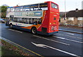 ST3090 : X3 bus ascending Malpas Road, Newport by Jaggery