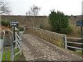SE1618 : Riddings Bridge, Peace Pit Lane by Stephen Craven