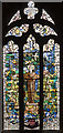 SK3871 : Stained glass window, St Mary & All Saints' church, Chesterfield by Julian P Guffogg