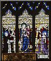 SK3871 : Holy Cross Chapel east window, St Mary & All Saints' church, Chesterfield by Julian P Guffogg