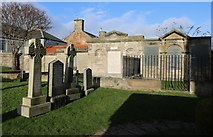 NO4900 : Memorial Garden, Elie Church by Bill Kasman