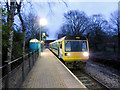 ST1680 : Pacer train at Birchgrove station by Gareth James