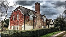 TQ2115 : House on Dagbrook Lane - near Henfield, Sussex by Ian Cunliffe