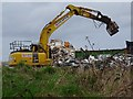 SO7844 : Demolition of the former Qinetiq site by Philip Halling