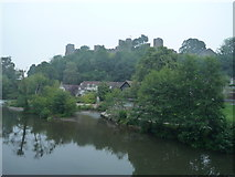 SO5074 : Ludlow Castle and the River Teme (Ludlow) by Fabian Musto