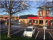 NT2774 : Meadowbank Retail Park by Richard Webb