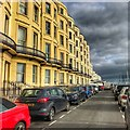 TQ3203 : Brighton - seafront terraces in Kemptown by Ian Cunliffe