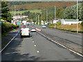 NS4374 : A82, Dumbarton Road, approaching Milton by David Dixon