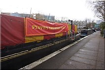 TQ2681 : The puppet theatre barge, Little Venice by Ian S