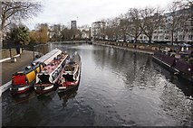 TQ2681 : Little Venice from Westbourne Terrace Road by Ian S