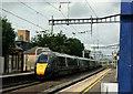 TQ0680 : Fast train through West Drayton by Derek Harper