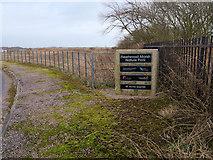 SD3346 : Fleetwood Marsh Nature Park by David Dixon