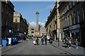 NZ2464 : Grey's Monument and Grainger Street, Newcastle by habiloid