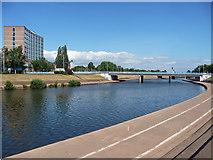 SX9192 : Exe Bridge, Exeter by Stephen Richards