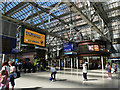 NS5865 : Concourse and barriers of Glasgow Central Station by Stephen Craven