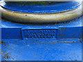 NS5964 : St Andrew's Suspension Bridge - makers' plaque by Stephen Craven