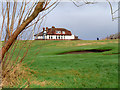 SD3138 : Clubhouse at Blackpool North Shore Golf Club by David Dixon