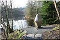 NX4465 : Gem Stane at Bruntis Loch by Billy McCrorie