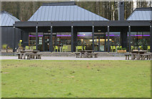 NX4564 : Kirroughtree Visitor Centre by Billy McCrorie