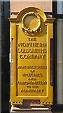 NZ2464 : Plaque on Northern Goldsmiths, Pilgrim Street / Blackett Street, NE1 by Mike Quinn