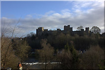 SO5074 : Ludlow Castle from Whitcliffe Common by Robert Eva