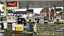 TQ2115 : Henfield, Sussex - Golden Square viewed from the Shell petrol station by Ian Cunliffe