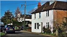 TQ2115 : Henfield, Sussex - houses on Nep Town Road by Ian Cunliffe