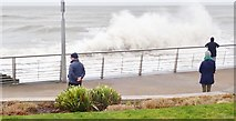 J3730 : Waves on the Central Promenade at Newcastle by Eric Jones